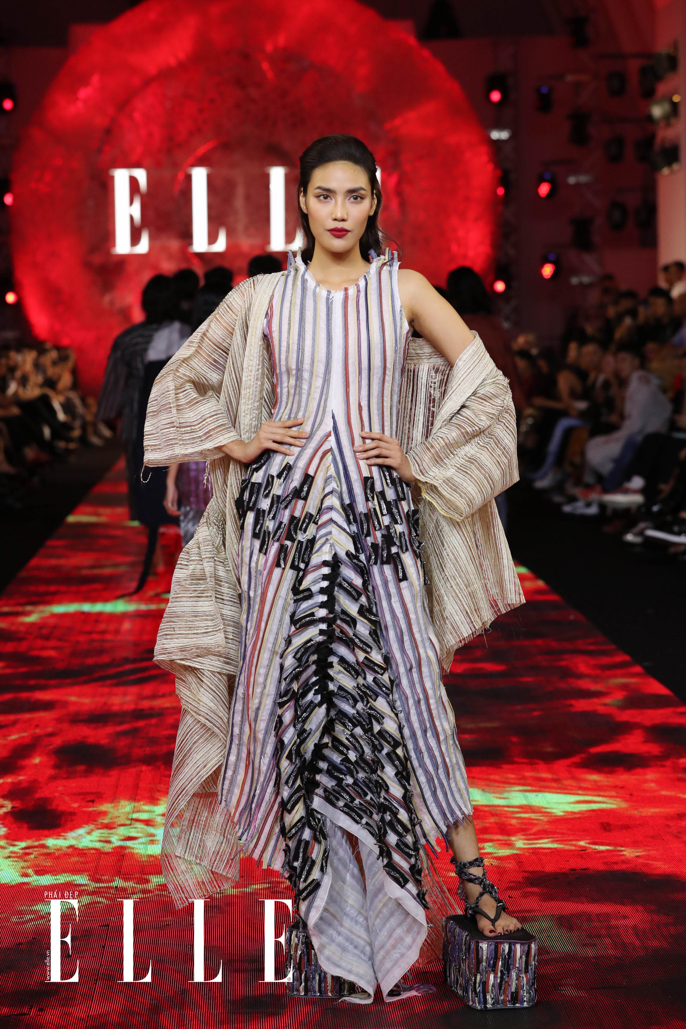 xu huong trang tu nhien diem thong linh san dien elle fashion journey 2018 08