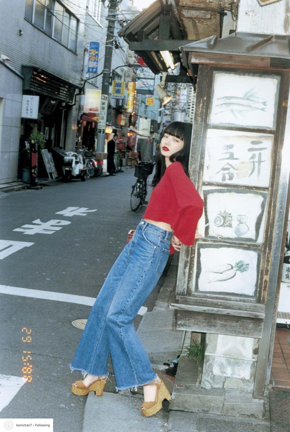 phong cách thời trang nữ tính Nana Komatsu