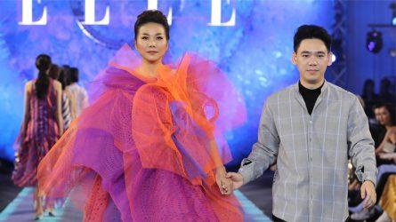 ELLE Fashion Journey 2018: Thanh Hằng trình diễn trang phục đặc biệt của NTK Vinn Pantararin