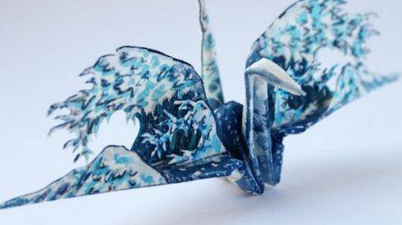 Nghệ thuật Origami: Những con hạc giấy