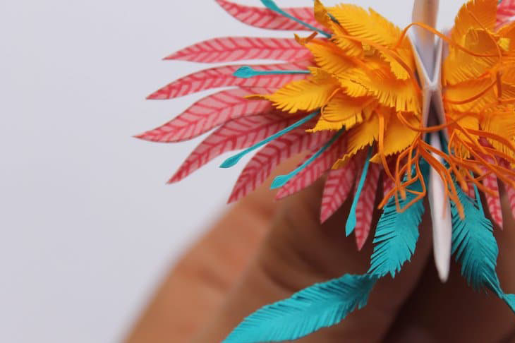elle việt nam nghệ thuật origami 10