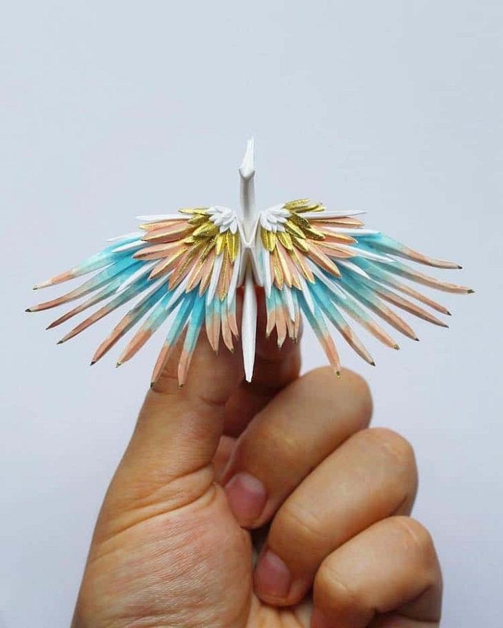 elle việt nam nghệ thuật origami 6