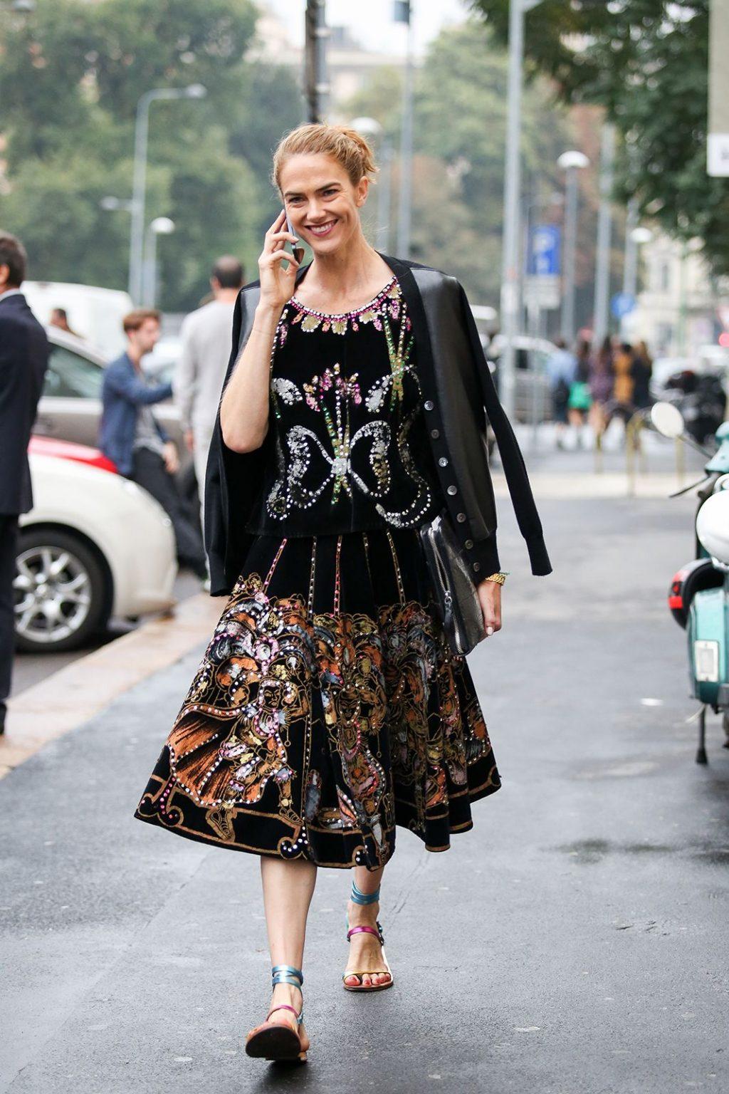 bí quyết thời trang cô gái Ý 28