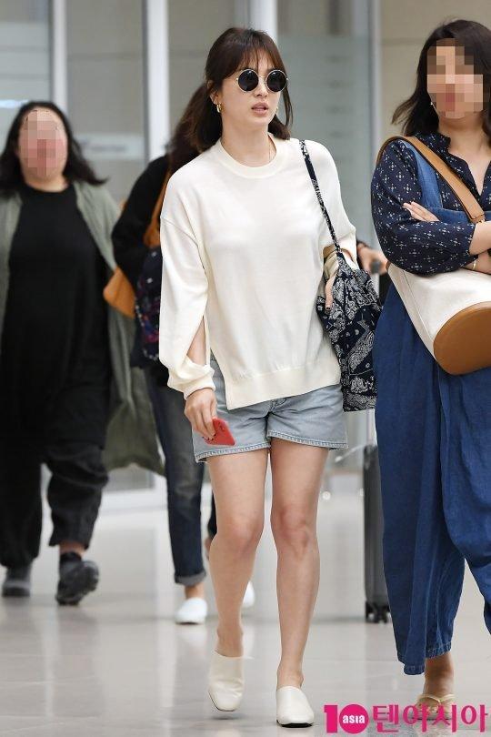 phong cách thời trang của Song Hye Kyo 5