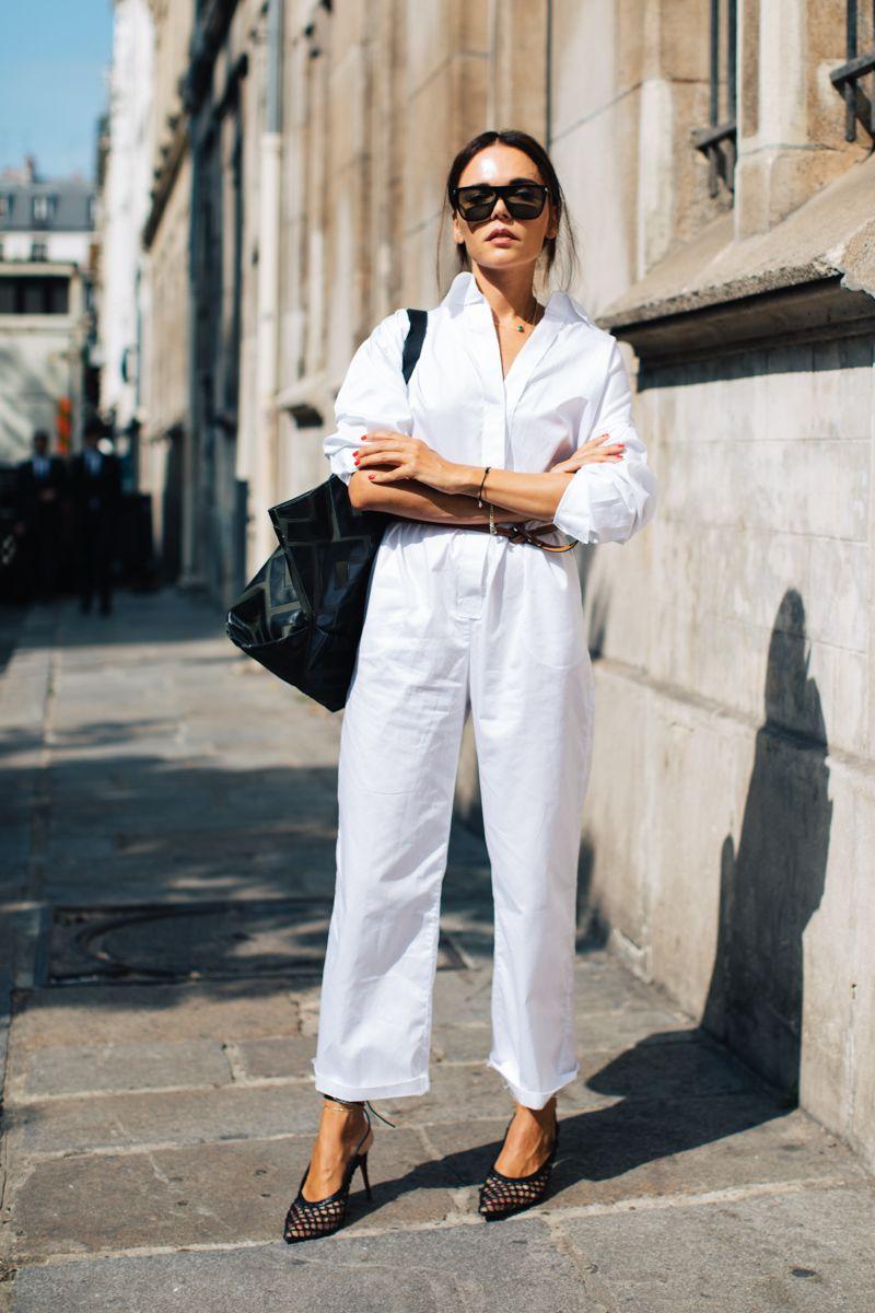 phối trang phục đẹp công thức white on white 11
