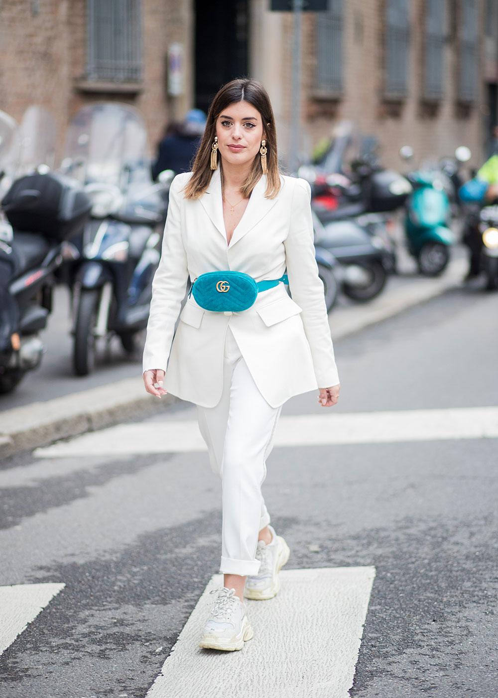 phối trang phục đẹp công thức white on white 14