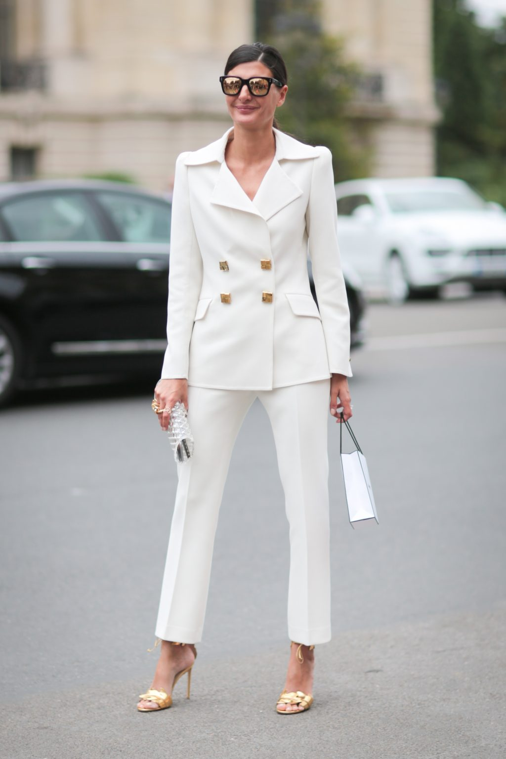 phối trang phục đẹp công thức white on white 15