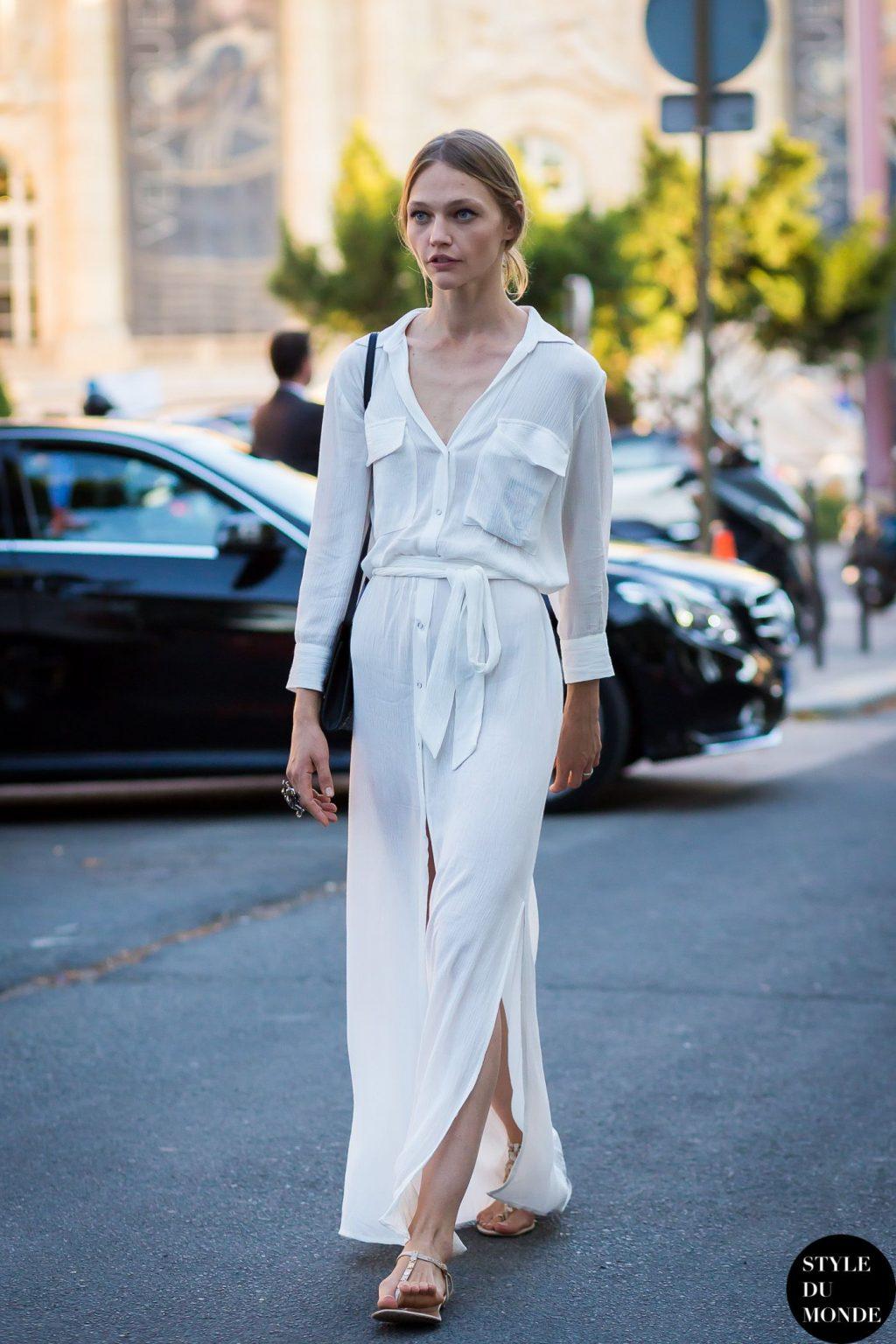 phối trang phục đẹp công thức white on white 17