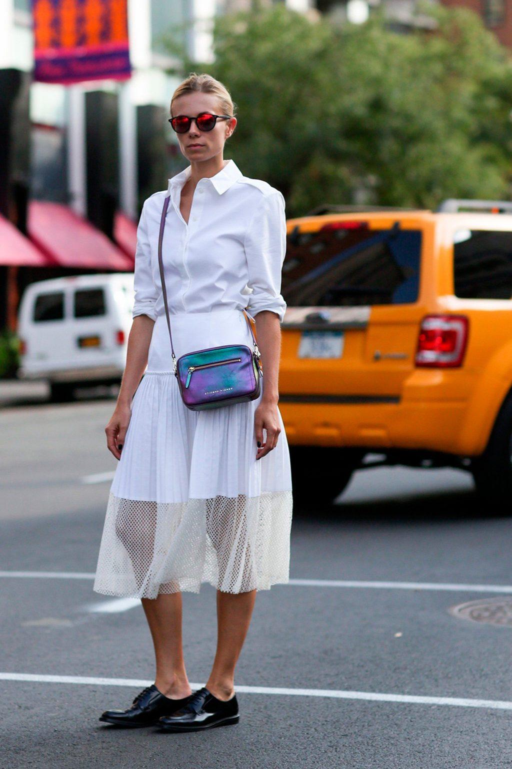 phối trang phục đẹp công thức white on white 21