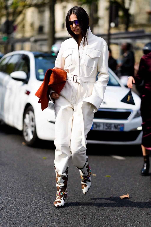 phối trang phục đẹp công thức white on white 3