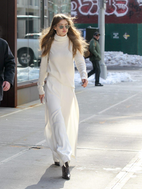 phối trang phục đẹp công thức white on white 9
