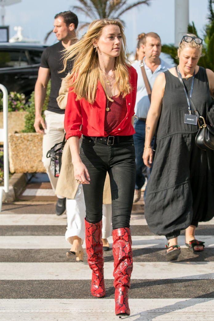 Phong cách thời trang Amber Heard 12
