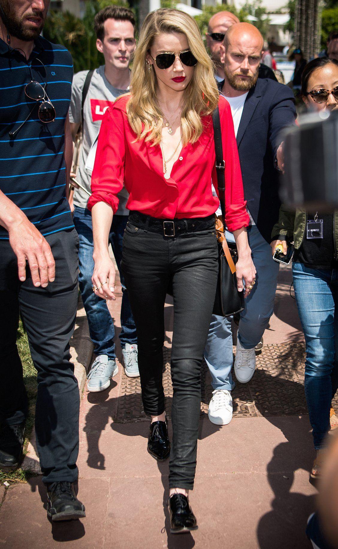 Phong cách thời trang Amber Heard 14