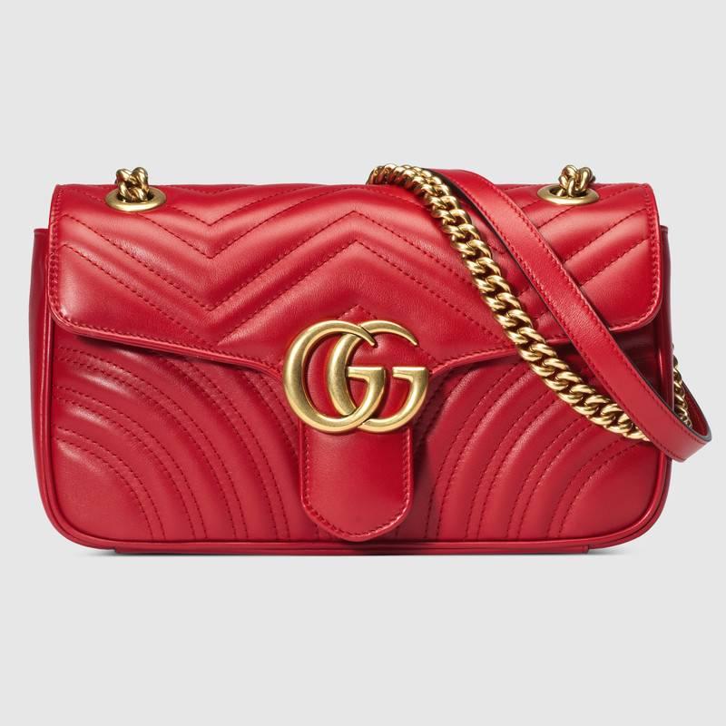 túi xách đỏ Gucci