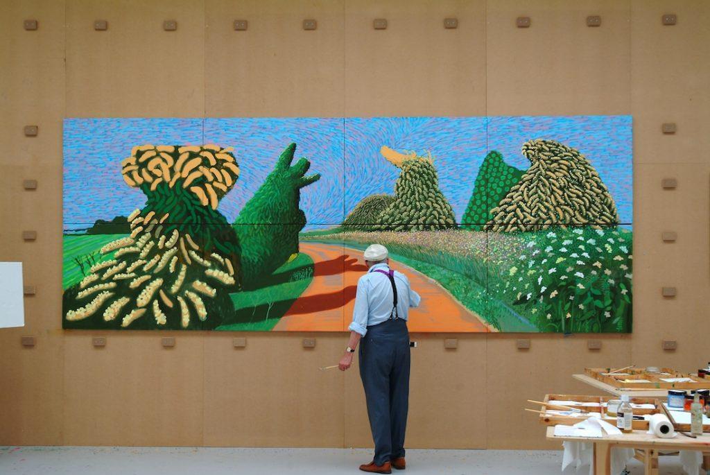 Tranh vẽ của David Hockney 2