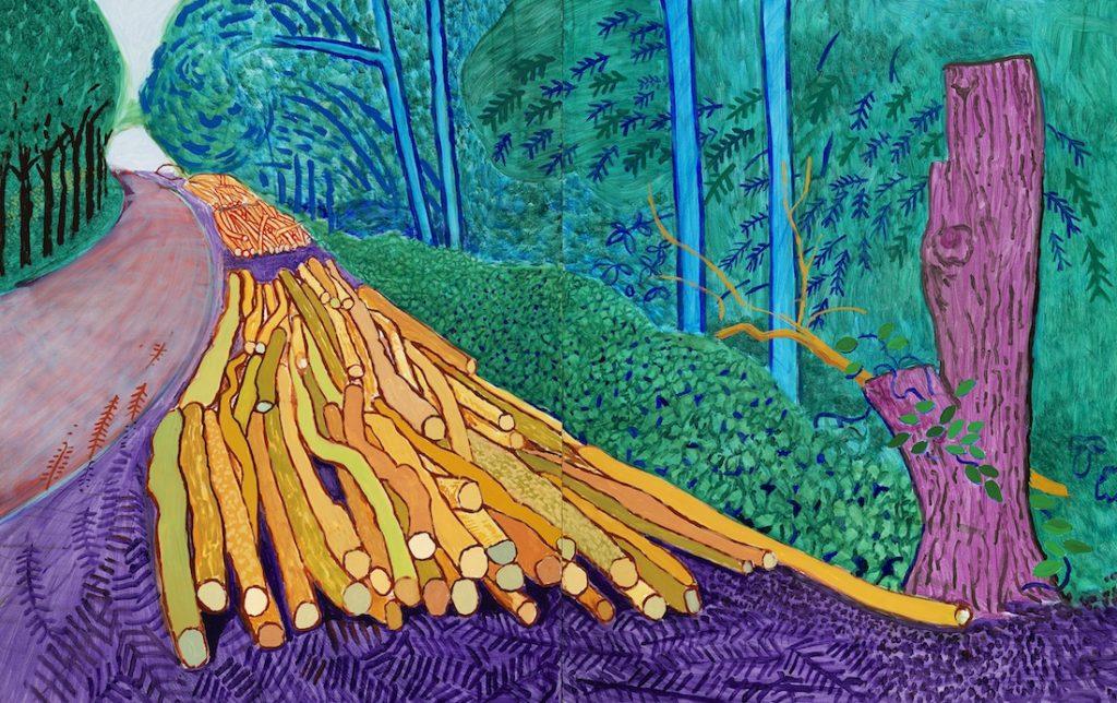 Tranh vẽ của David Hockney 11