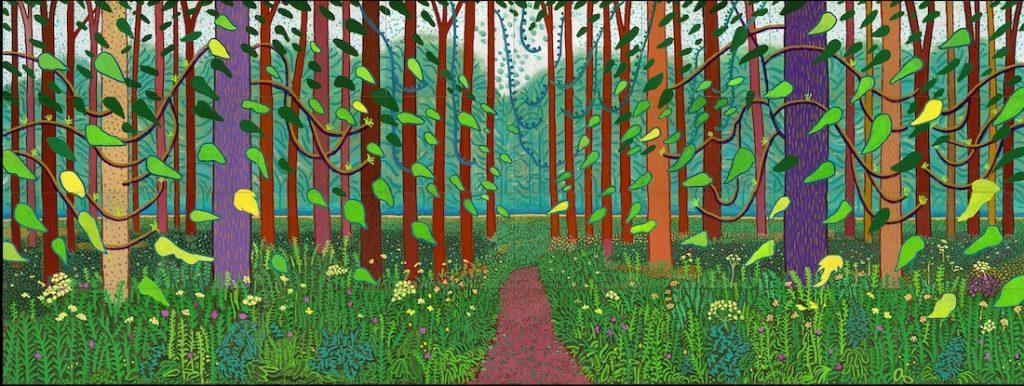 Tranh vẽ của David Hockney 10
