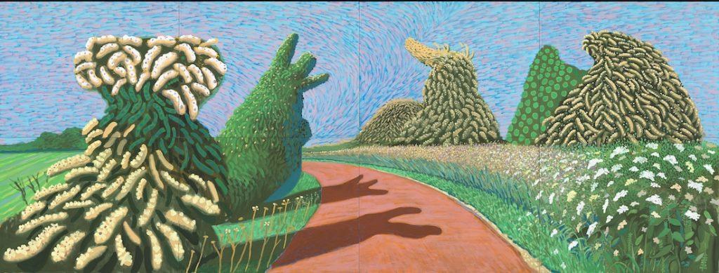 Tranh vẽ của David Hockney 6