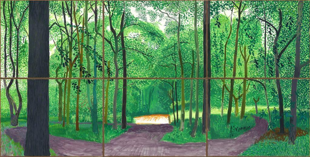 Tranh vẽ của David Hockney 7