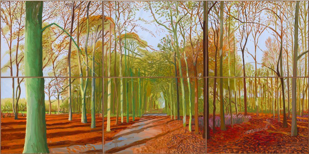 Tranh vẽ của David Hockney 9