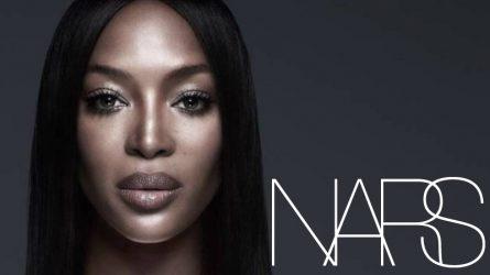 Naomi Campbell trở thành đại sứ thương hiệu mỹ phẩm NARS trong năm 2019