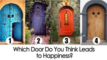 [Trắc nghiệm] Cánh cửa nào sẽ dẫn bạn đến con đường của hạnh phúc?