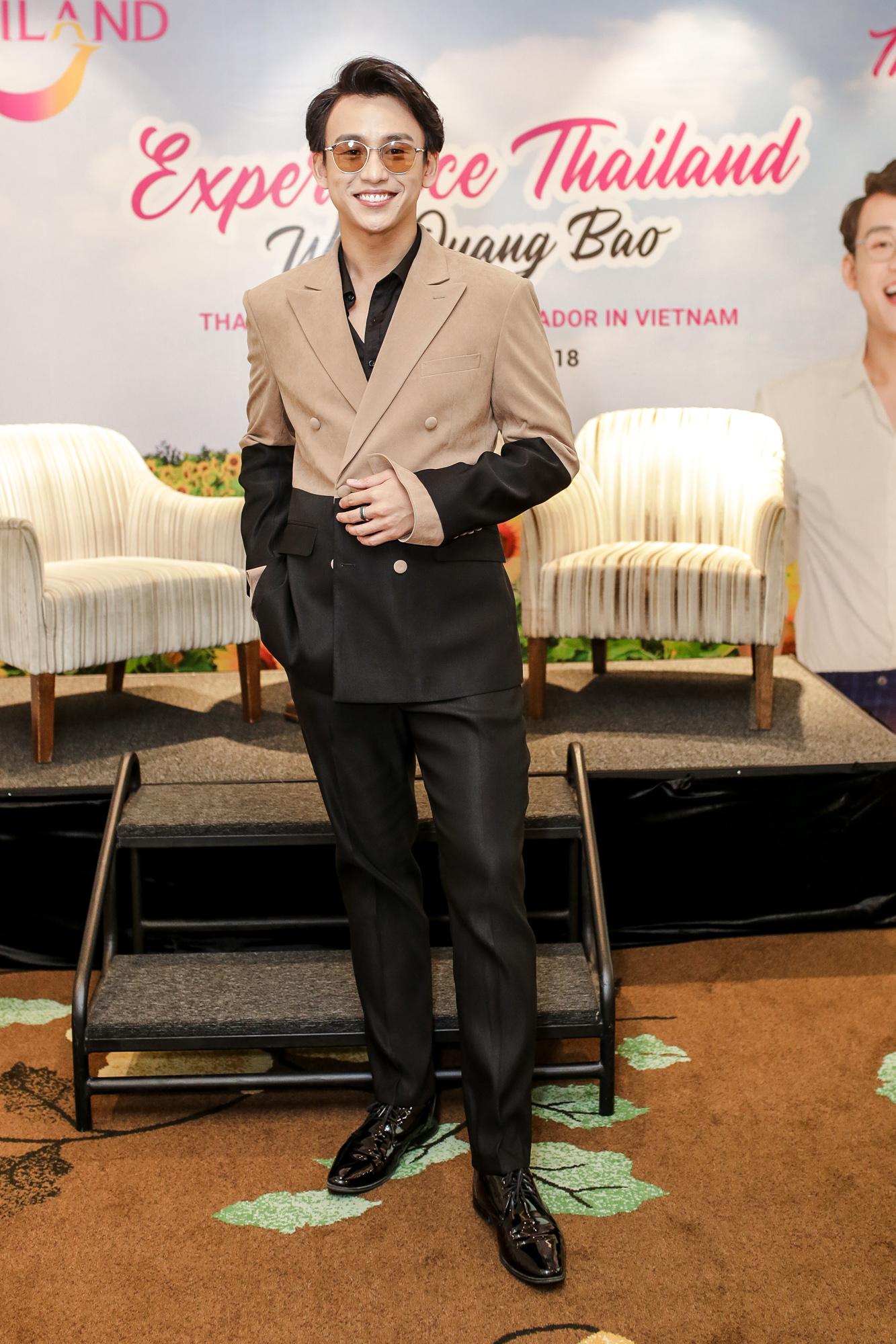 MC Quang Bảo trở thành đại sứ du lịch Thái Lan 2019 2