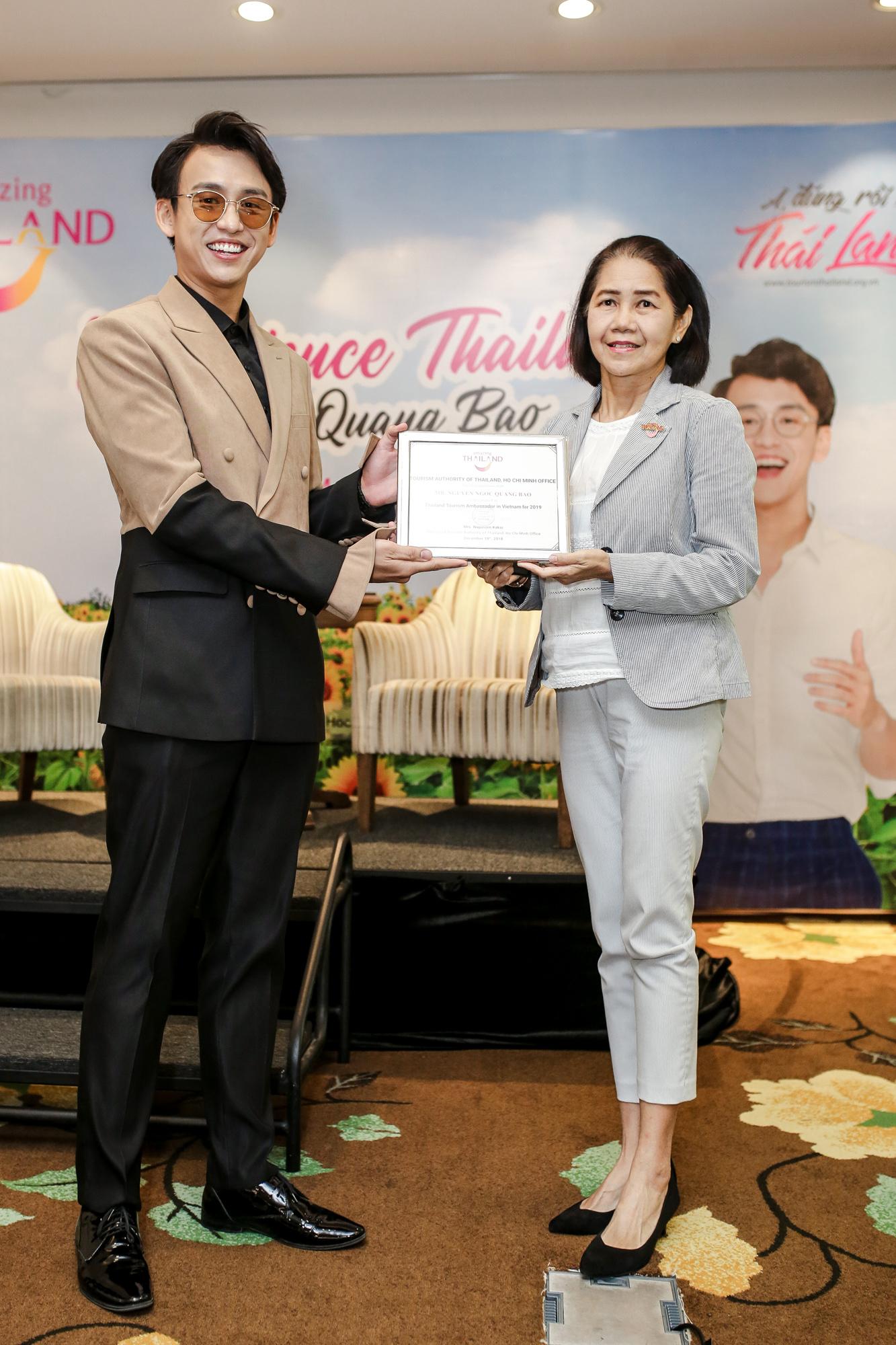 MC Quang Bảo trở thành đại sứ du lịch Thái Lan 2019 4