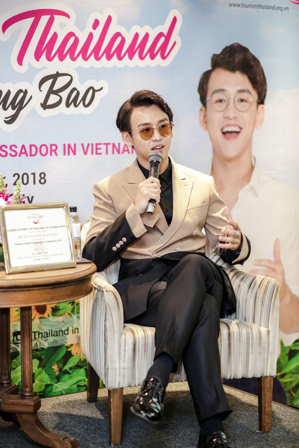 MC Quang Bảo trở thành đại sứ du lịch Thái Lan 2019 7