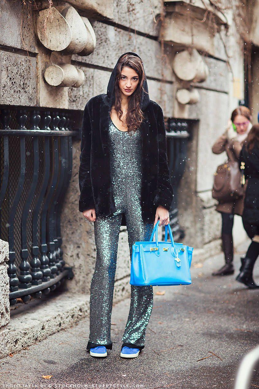 xu hướng thời trang dự tiệc glitter 17
