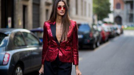 """Trang phục glitter – xu hướng thời trang dự tiệc """"thống trị"""" dịp lễ hội cuối năm"""
