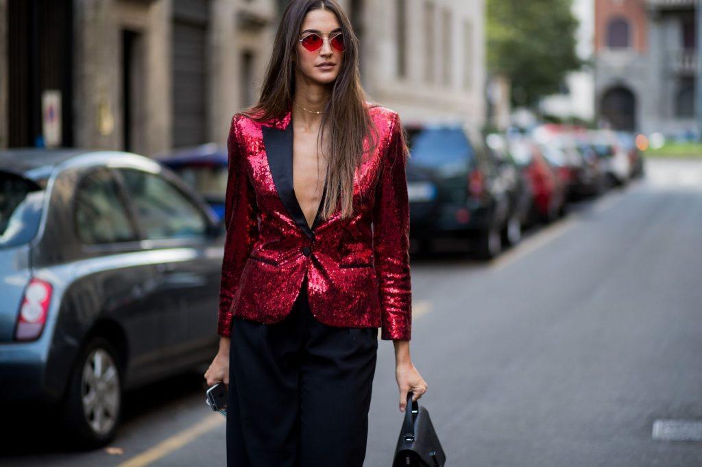 xu hướng thời trang dự tiệc glitter 4