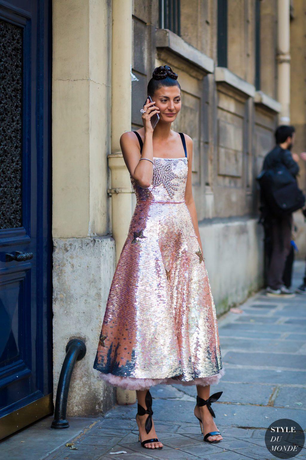 xu hướng thời trang dự tiệc glitter 6