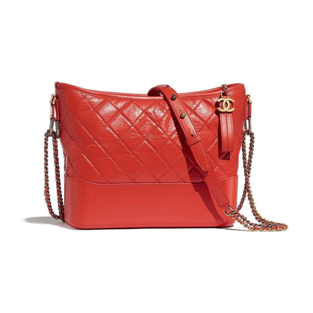 túi xách đỏ chanel