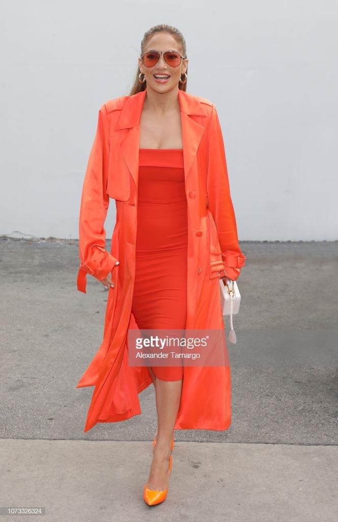 thời trang màu cam san hô 2