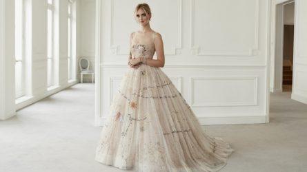 Ngắm thiết kế váy cưới đẹp và lộng lẫy nhất của sao năm 2018