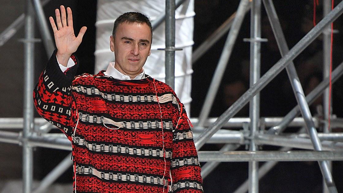 NTK Raf Simons rời Calvin Klein 2
