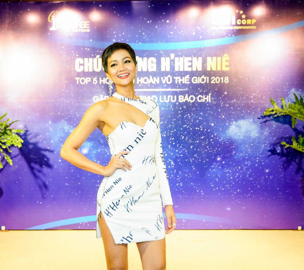 Hoa hậu Hoàn Vũ Việt Nam H'Hen NIÊ 1