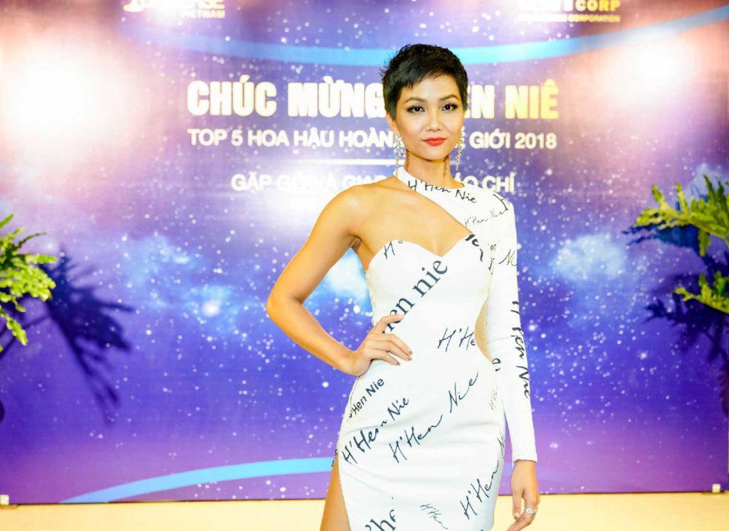 Hoa hậu Hoàn Vũ Việt Nam H'Hen NIÊ 2