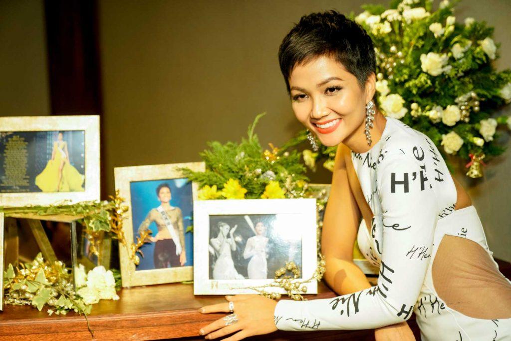 Hoa hậu Hoàn Vũ Việt Nam H'Hen NIÊ 3