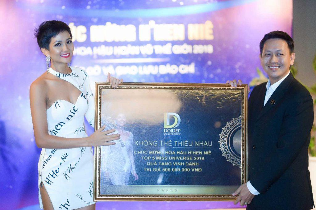Hoa hậu Hoàn Vũ Việt Nam H'Hen NIÊ 5