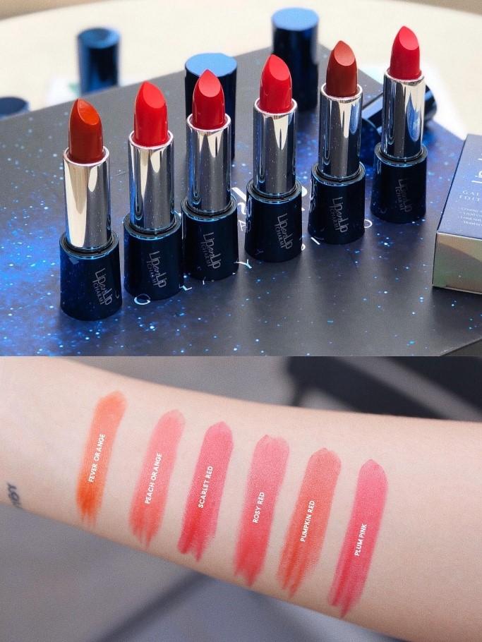 6 sắc son collagen Lip On Lip Charm Galaxy Edition 5