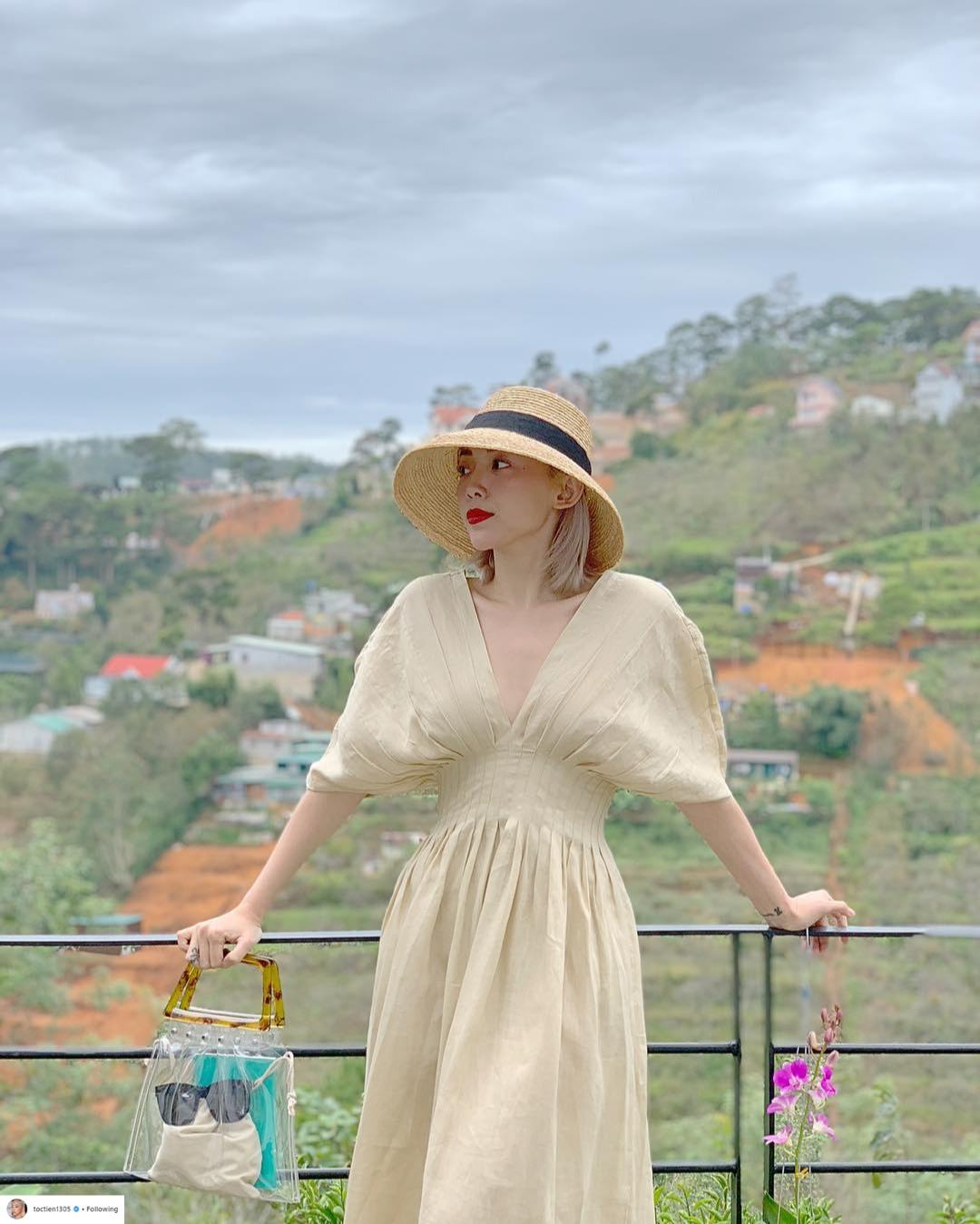 Thời trang du lịch tinh giản của sao Việt 4