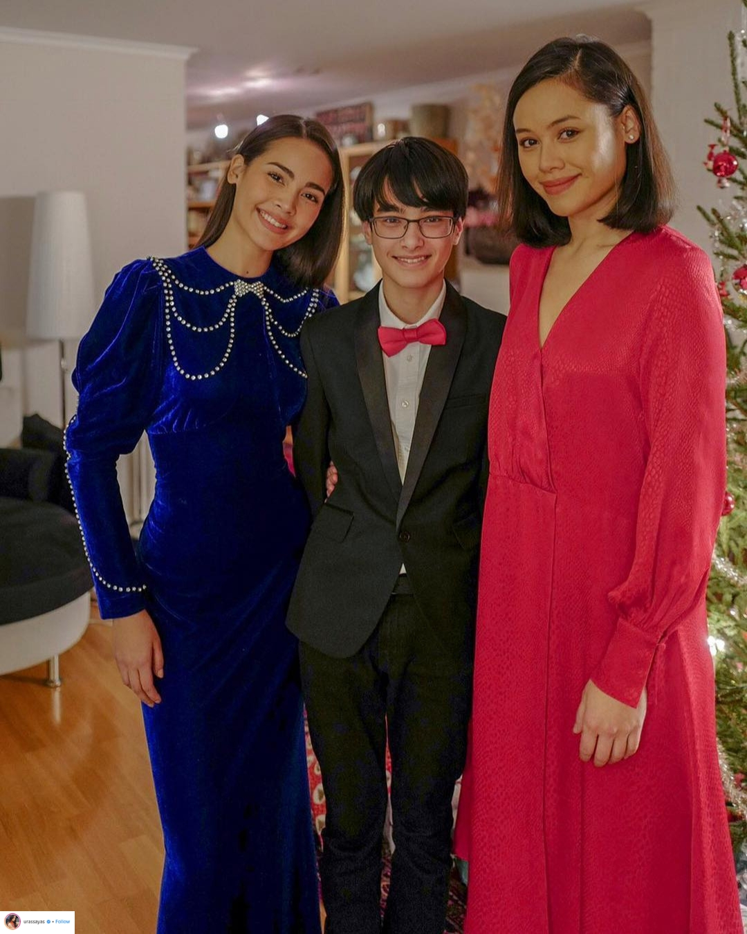 phong cách thời trang sao lễ giáng sinh 10