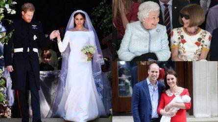 Điểm lại những khoảnh khắc đáng nhớ của Hoàng gia Anh trong năm 2018