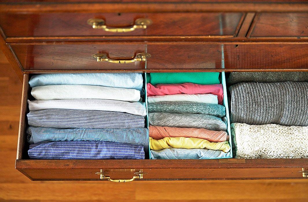 sắp xếp tủ quần áo marie kondo 7
