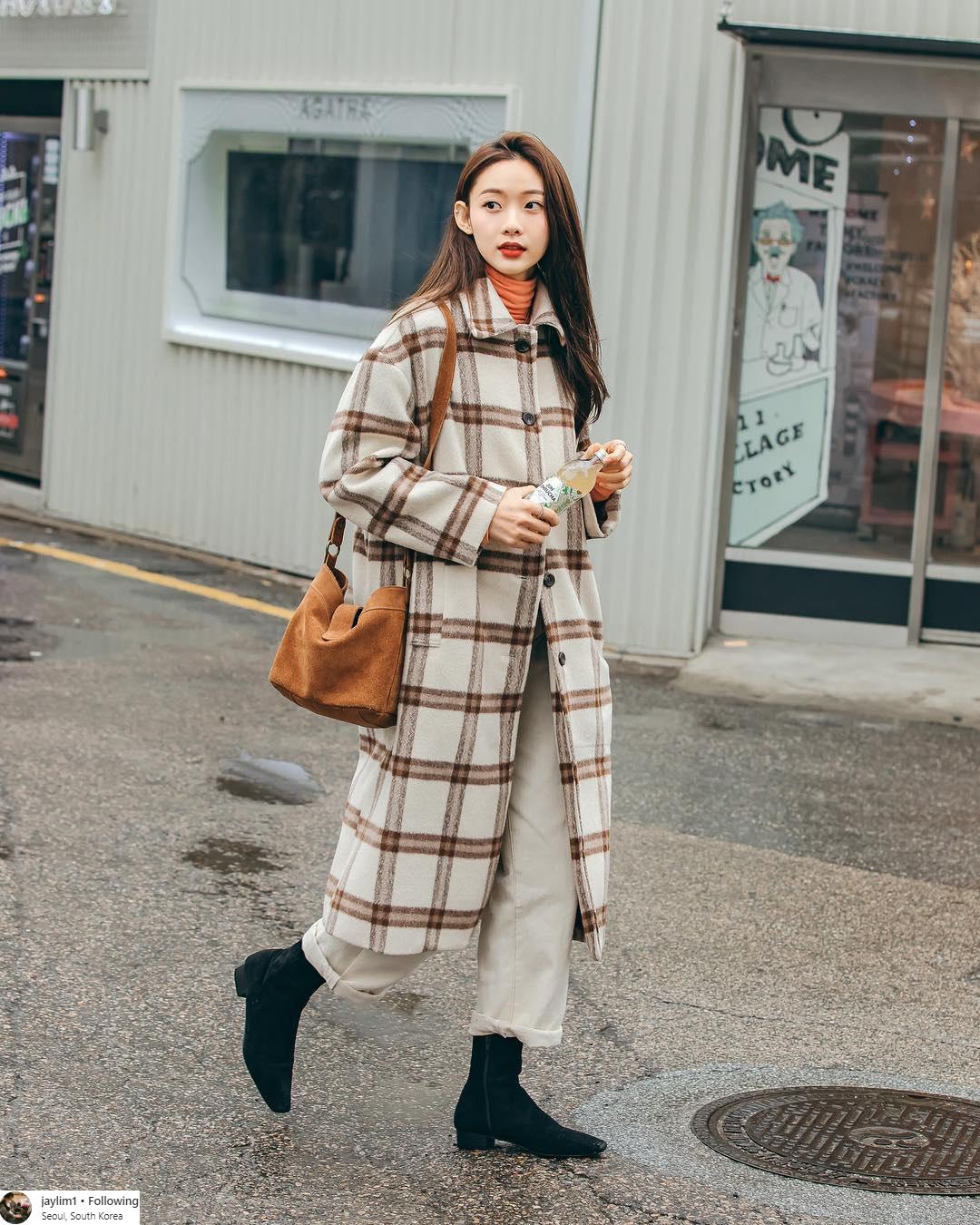 trang phục du lịch Seoul