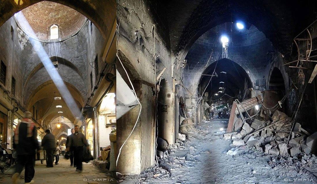 ELLE Việt Nam thành phố Aleppo