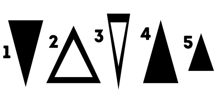 ELLE Việt Nam trác nghiệm hình tam giác