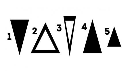 [Trắc nghiệm] Hình tam giác bạn chọn sẽ tiết lộ sự thật về tính cách của bạn